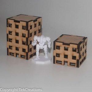 Battletech 6mm Office Buildings