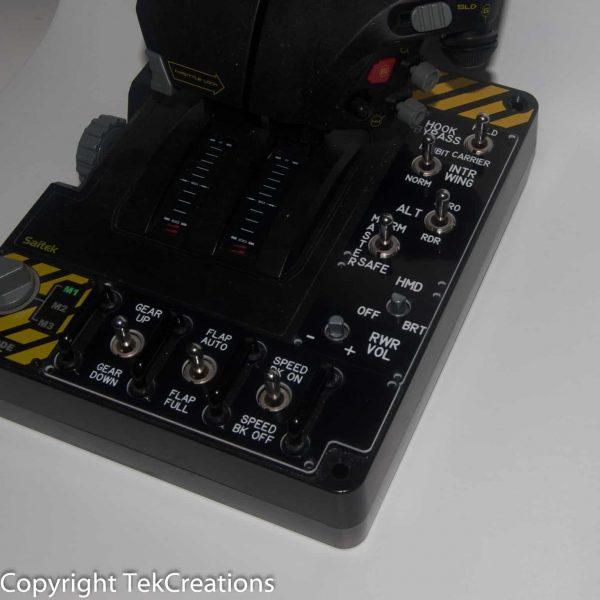 F18 Saitek Joystick Custom Plates