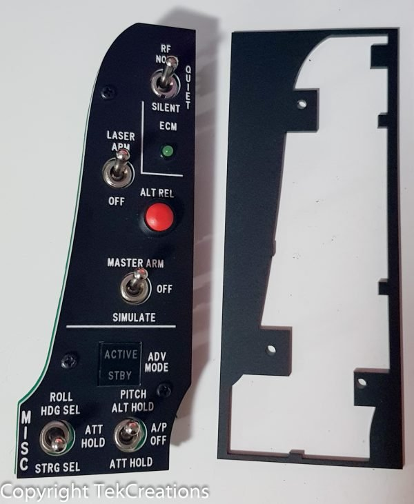 F16 Viper Misc Panel