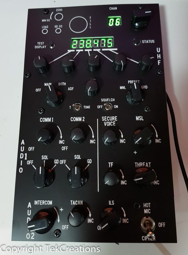 F16 UHF Radio Stack